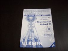 Macclesfield Town v Manchester United Reserves, 1996/97 [Fr]